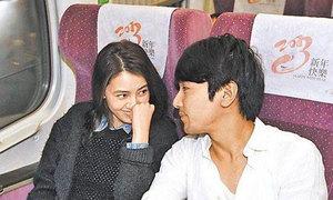 Tình yêu ngọt ngào của Triệu Hựu Đình và vợ