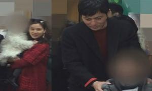 Jang Dong Gun lần đầu lộ diện cùng vợ và hai con