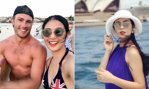 Ngọc Hân phải lòng 'bãi tắm có nhiều trai đẹp' ở Australia