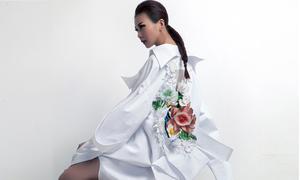 NTK Công Trí hé lộ các thiết kế trong BST 'Em hoa'