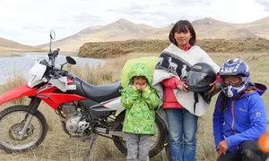Cậu bé 4 tuổi được cha mẹ đưa đến nơi tận cùng trái đất