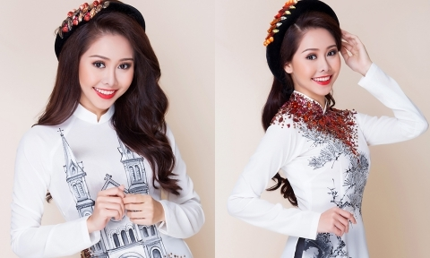 Diễn viên Tường Vi hoá cô dâu trẻ trung với áo dài lụa trắng