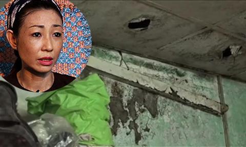 Ngôi nhà 'nắng thì nóng, mưa thì ngập' của ca sĩ Hà My