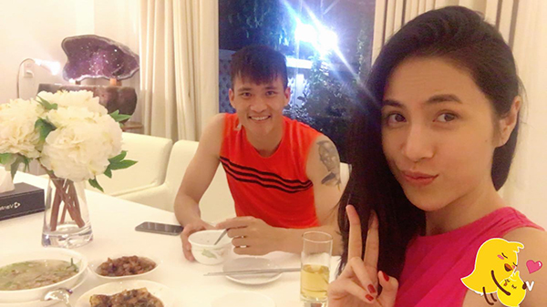 Thuy Tien tiet lo mong uoc lon nhat khi duoc o ben Cong Vinh