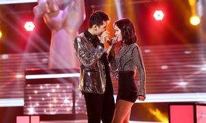 Đào Tín và Mỹ Linh hát 'Treasure'