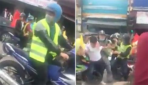 Nhóm phượt thủ đánh người, nẹt pô xe gây náo loạn giao thông