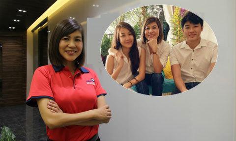 Mẹ đơn thân 4 con trở thành nữ doanh nhân nổi tiếng Singapore