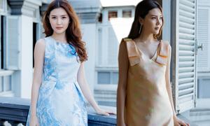 Ngọc Duyên xinh xắn với váy mùa hè