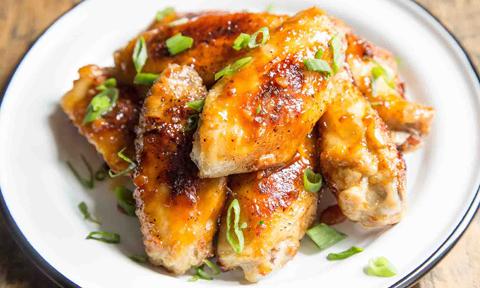 Cánh gà nướng sốt miso