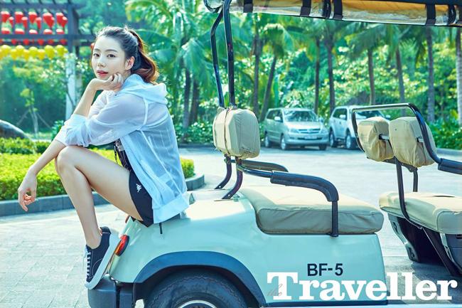 Vợ Bae Yong Joon tới Đà Nẵng chụp hình tạp chí