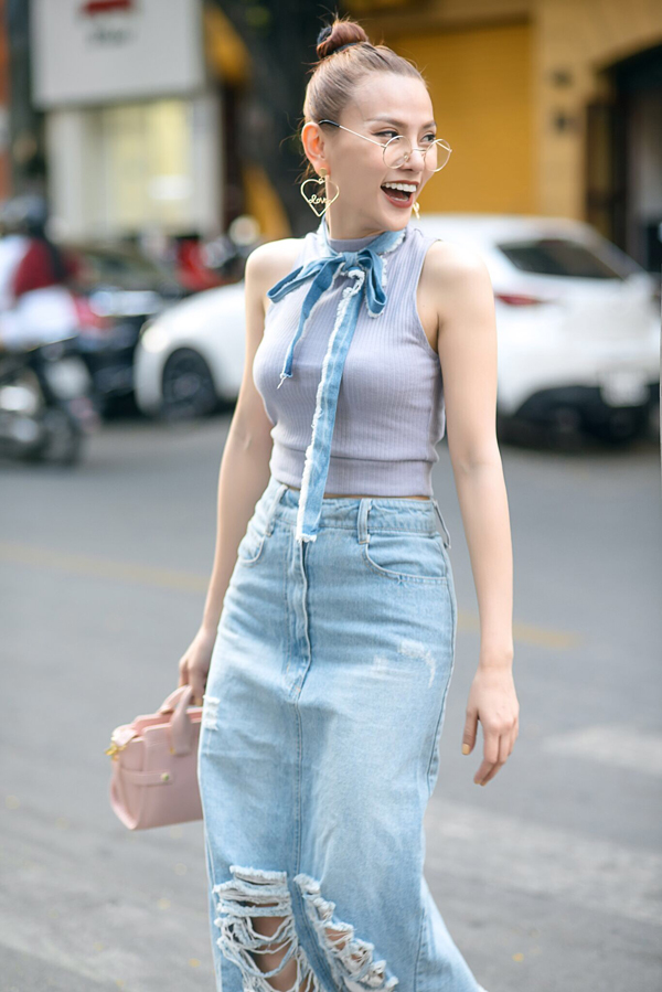 thu-thuy-chat-lu-voi-cach-mix-jean-va-denim