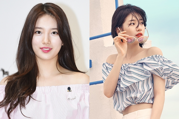 Suzy cá tính hơn rất nhiều với kiểu tóc tém.