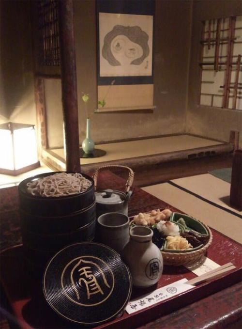 Nha hang my soba hon 550 tuoi - diem dung chan o co do Kyoto