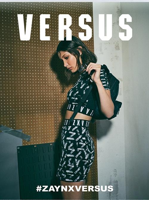 Thần thái tự nhiên, phóng khoáng của Zayn X Versus biểu hiện xuyên suốt chiến dịch quảng cáo thông qua hình ảnh của siêu mẫu Bella Hadid và Zayn.