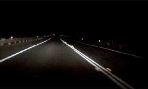 Con đường ma ám khiến các tài xế rùng mình