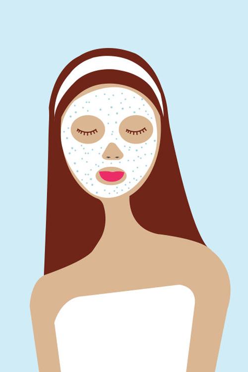 Tẩy da chết quá nhiều Tẩy da chết quá nhiều khiến da mỏng đi, mất đi khả năng tự phòng vệ trước các tác nhân xấu từ môi trường. Bạn chỉ nên tẩy da chết từ 1 - 2 lần/tuần.