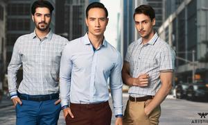 Phong cách thời trang châu Âu cho quý ông Việt