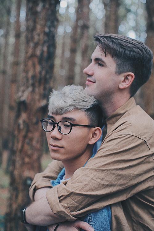 Chàng trai người Mỹ đã quyết định tỏ tình với Pi vào đúng Lễ Phục sinh sau 7 tháng quen nhau.