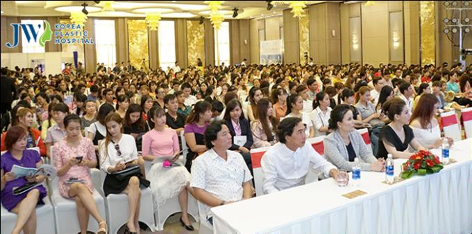 JW Hàn Quốc tổ chức hội thảo thẩm mỹ tại Cần Thơ