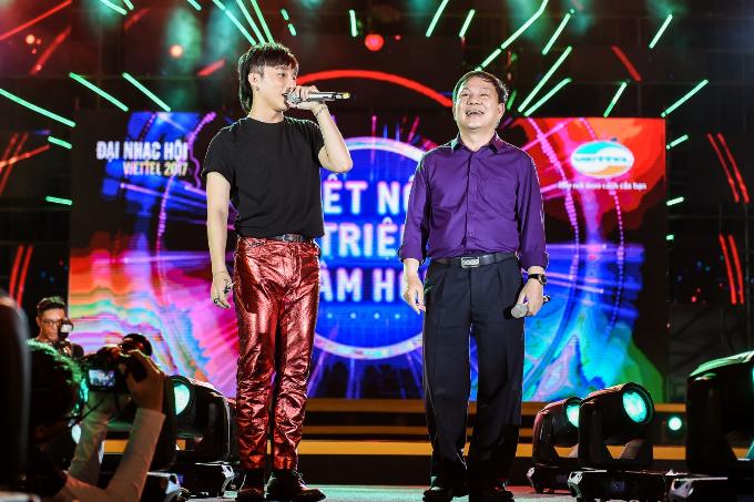 Sơn Tùng M-TP mời Phó tổng giám đốc Viettel song ca - ảnh 3