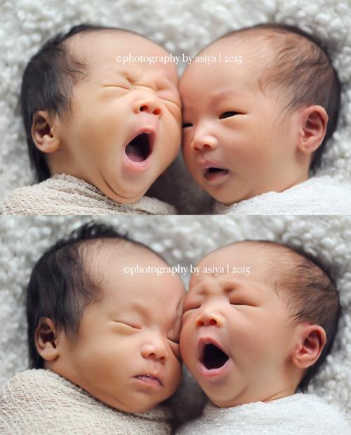 Những bức ảnh có thể khiến bạn muốn đẻ con sinh đôi - ảnh 1