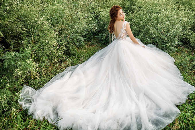 Bộ ảnh được thực hiện bởi chuyên gia trang điểm và trang phục Mai Đỗ, photo Nupakachi Cường Đỗ.