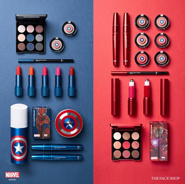 Bộ sưu tập mỹ phẩm mang phong cách siêu anh hùng