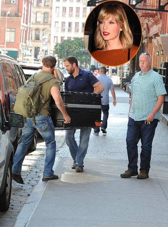 Taylor Swift bị đồn chui trong vali để lẩn tránh paparazzi