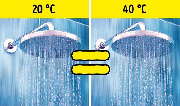 10. Gội đầu bằng nước mát giúp tóc khỏe hơn