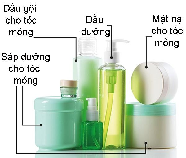 7. Dùng sản phẩm chăm sóc tóc đúng cách giúp tóc mỏng dày hơn