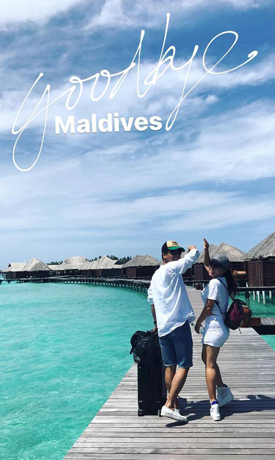 vo chong mc phan anh tron con den maldives ky niem 17 nam ben nhau hinh anh 6