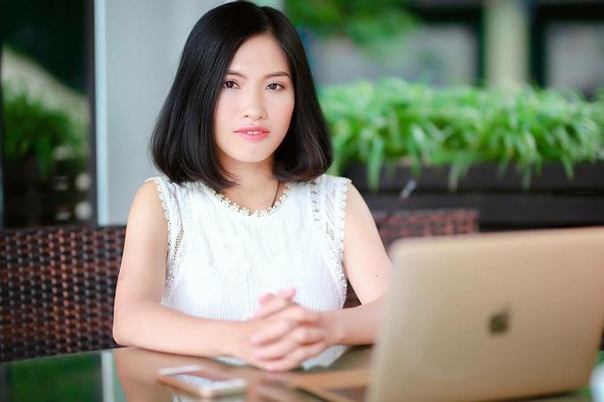 Chị Nguyễn Thị Giang trở thành CEO thương hiệu làm đẹp nhờ tìm phương pháp chữa trị mụn cho chồng.