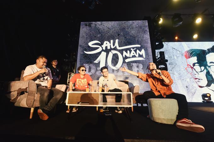 Da LAB tưởng nhớ ca sĩ chính của Linkin Park trong liveshow - Ảnh minh hoạ 6