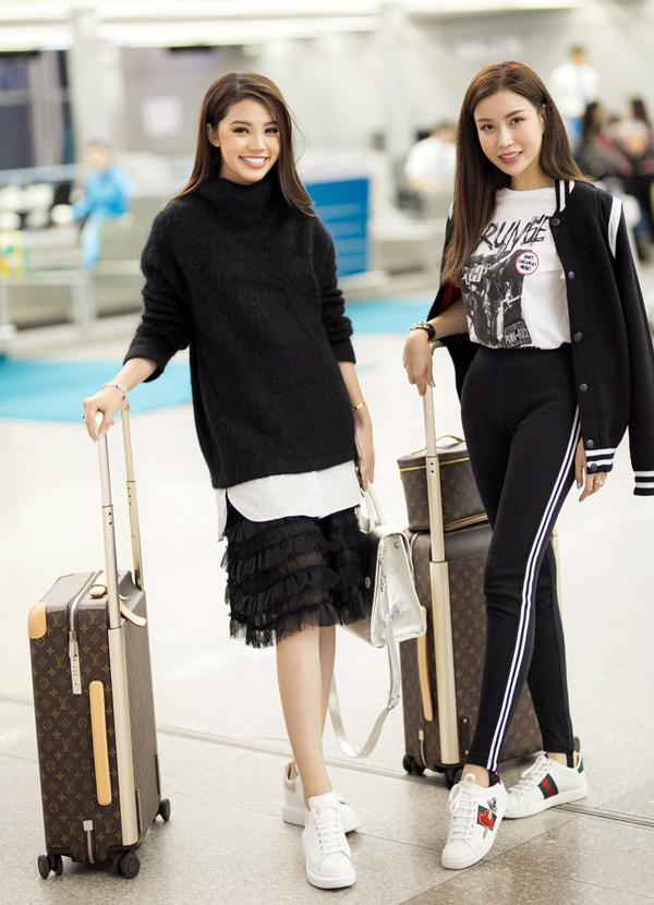 Ngọc Trinh mặc quần ống thấp ống cao ra sân bay - Ảnh minh hoạ 4