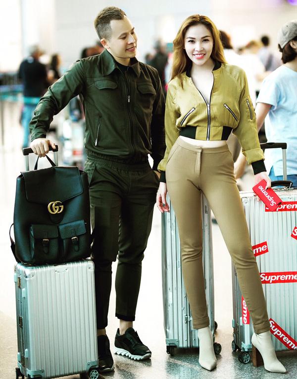 Ngọc Trinh mặc quần ống thấp ống cao ra sân bay - Ảnh minh hoạ 7
