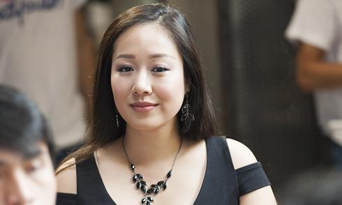 Hoa hậu Ngô Phương Lan hiếm hoi đi event