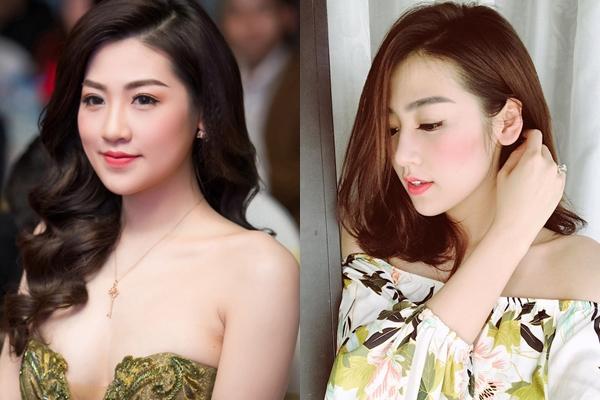 Á hậu Tú Anh chọn kiểu tóc bob chấm vai