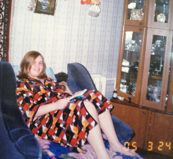 Tanya Rybakova từng béo đến độ gặp khó khăn khi đi lại.