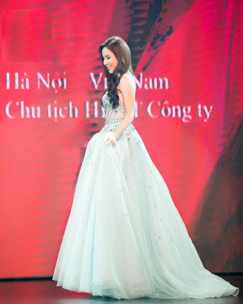 Hoàng Dung đăng quang Mrs Ao dai Vietnam 2017 - Ảnh minh hoạ 6