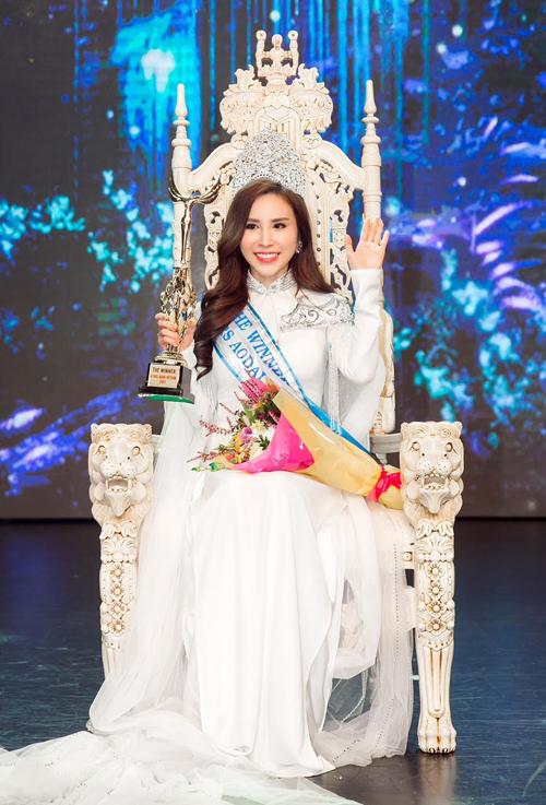 Hoàng Dung đăng quang Mrs Ao dai Vietnam 2017 - Ảnh minh hoạ 3