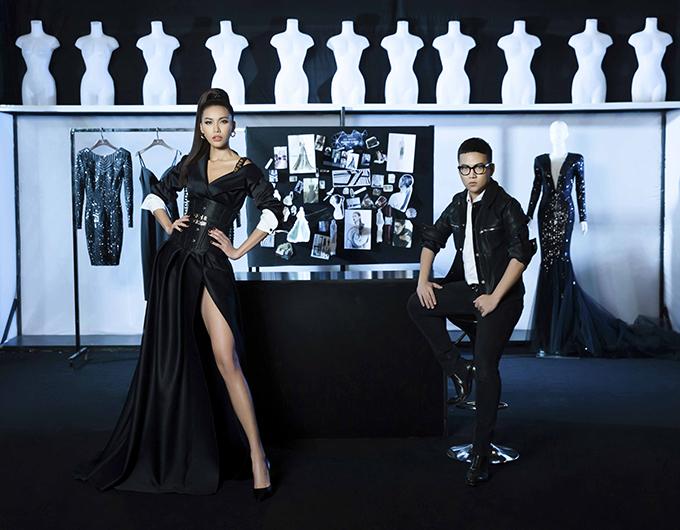 Đại diện cho team cá tính là nhà thiết kế Chung Thanh Phong và á quân Siêu mẫu Châu Á 2017 Minh Tú
