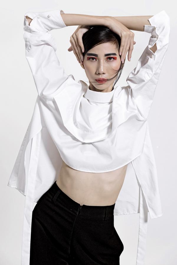 Qua chương trình Vietnams Next Top Model All Stars Cao Ngân ngày càng thể hiện bản lĩnh và năng lực trên con đường phát triển nghề mẫu chuyên nghiệp.