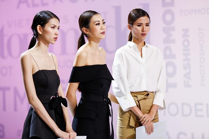 Sau hồi phán xử của Host Trương Ngọc Ánh, Thùy Dương và Cao Thiên Trang đã quyết định tiếp tục cuộc thi.