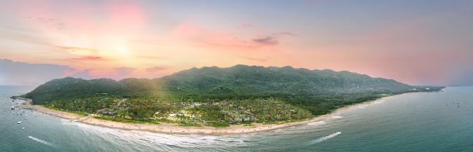 Oceanami Villas & Beach Club  Khu phức hợp nghỉ dưỡng tựa sơn nghinh hải