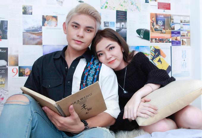 Sơn Ngọc Minh quấn quýt bên Huyền Nhi trong MV mới
