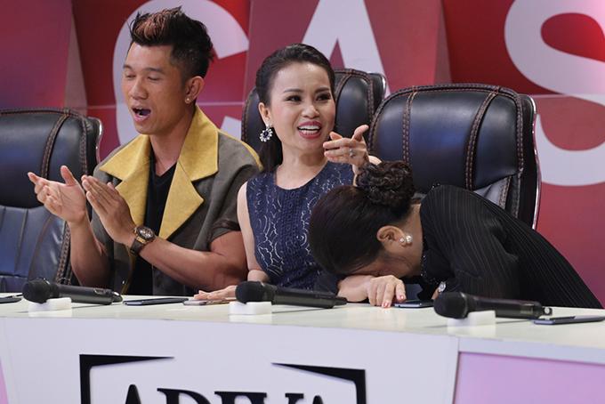Mẹ Minh Tuyết xấu hổ vì 4 lần không nhận ra giọng hát của con - Ảnh minh hoạ 4