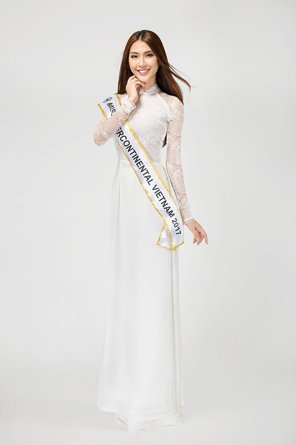 Á quân The Face 2017 Tường Linh đi thi Hoa hậu Liên lục địa