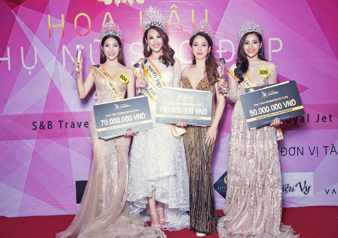 Hoa hậu Xuân Hương hội ngộ Ngọc Hân tại cuộc thi nhan sắc ở Thái Lan - Ảnh minh hoạ 6