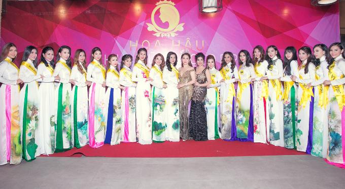 Hoa hậu Xuân Hương hội ngộ Ngọc Hân tại cuộc thi nhan sắc ở Thái Lan - Ảnh minh hoạ 7