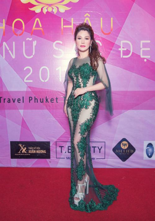 Hoa hậu Xuân Hương hội ngộ Ngọc Hân tại cuộc thi nhan sắc ở Thái Lan - Ảnh minh hoạ 4